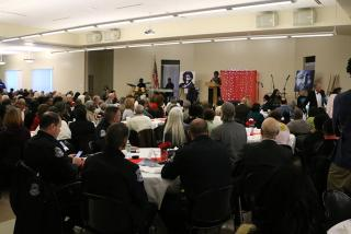 The 40th annual Martin Luther King, Jr. Breakfast & Awards, where the announcement was made