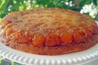 Completed Kumquat Cake. Photo by Robin Draper.