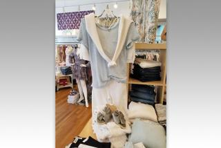 Clothing from L. Boutique. Photo by Kendra Gemma
