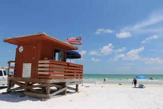 Lido Beach in Sarasota County