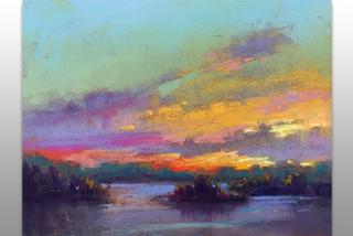 Painting by Linda Richichi