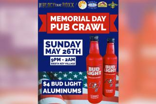 Block that Roxx Memorial Day event banner Siesta Key
