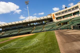 Orioles Spring Training at Ed Smith Stadium in Sarasota Florida