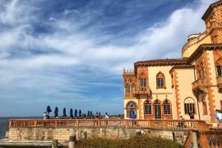 The Ca d'Zan mansion at The Ringling in Sarasota Florida