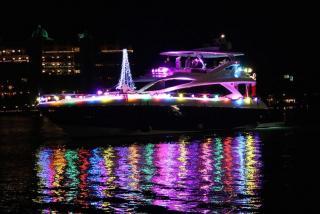 Parade of Boats at Marina Jacks