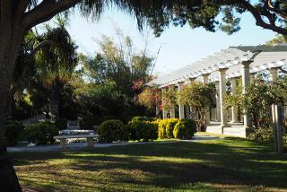 Pergola and Sunken Garden (Photo Courtesy Lauren Jackson)