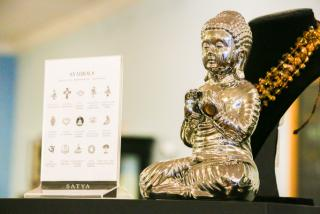 Small buddha statue from Pixie Dust store in Sarasota
