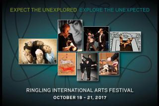 Ringling International Arts Festival October 18 - 21, 2017