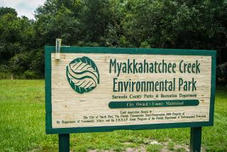 Myakkahatchee Environmental Creek. Photo Credit: Robin Draper