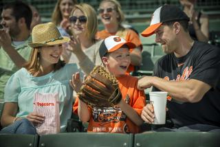 Family at Orioles Game