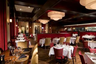Empty dining area at Hyde Park restaurant in sarasota florida
