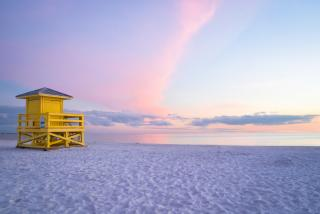 Siesta Key Lifeguard Stand