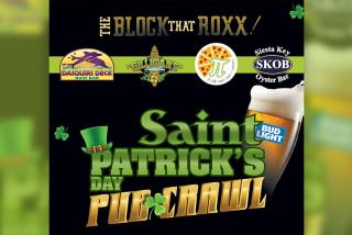 Banner for St. Patrick's Day Block that Roxx event