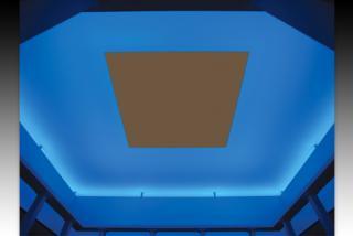Turrell Skyspace: Joseph's Coat.  Image courtesy of the Ringling