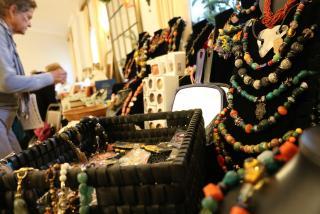 Jewelry from a Ukrainian Christmas Bazaar in North Port, Florida