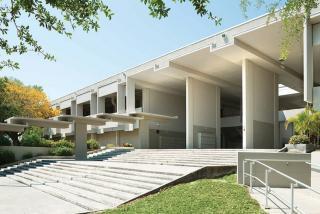 Sarasota High School. Designed by Architect Paul Rudolph, 1958. Photo © Greg Wilson.