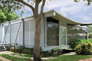 Healy Guest House, aka Cocoon House. Designed by Architects Ralph Twitchell and Paul Rudolph, 1950. Photo credit: Greg Wilson.