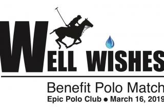 Banner for well wishes polo event in sarasota, florida